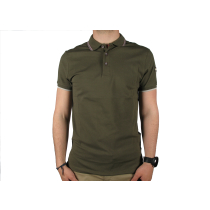 Achat Monday Mens Knitted Shirt Olive