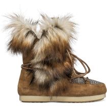 Compra Moon Boot Far Side High Faux Fox Fur Whisky