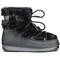 Kauf Moon Boot Monaco Low Fur WP Black