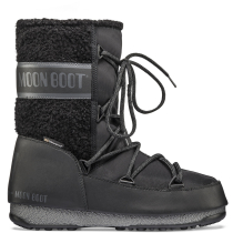 Buy Moon Boot Monaco Wool Mid Black