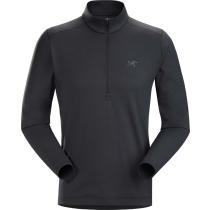 Buy Motus AR Zip Neck LS Men's Black Heather
