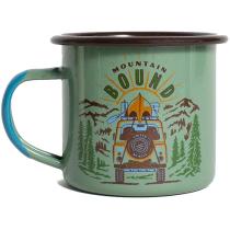 Mountain Bound 12Oz Enamel Steel Mug Sage