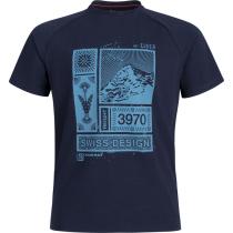 Achat Mountain T-Shirt Men Marine