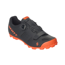 Buy MTB Elite Boa Matt Black/Neon Orange