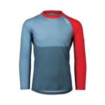 Acquisto MTB Pure LS Jersey Calcite Blue/Prismane Red