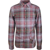 Achat Murer-Mage Shirt Grey/Red/Green Check