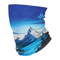 Buy Neckwarmer Alpine Vibes Blue