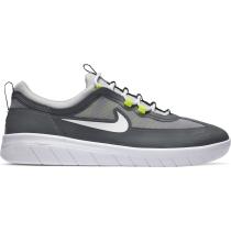 Achat Nike Sb Nyjah Free 2 Smoke Grey/White-Lt Smoke Grey