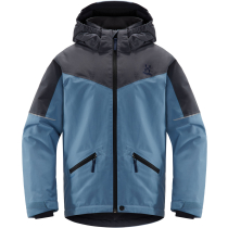 Buy Niva Insulated Jacket Junior Silver Blue/Dense Blue