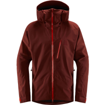Compra Niva Jacket Men Maroon Red/Habanero