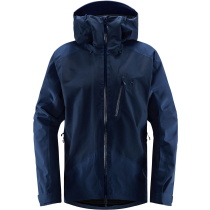 Buy Niva Jacket Men Tarn Blue Solid