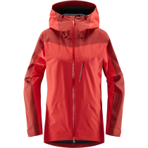 Compra Niva Jacket Women Hibiscus Red/Brick Red