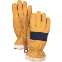 Buy Njord 5 Finger Navy/Natural Brown