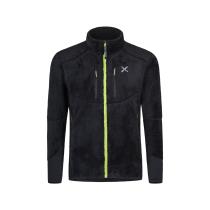 Achat Nordic Fleece Jacket Nero/Verde Acid