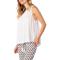 Acquisto Oasis Muse Singlet Shirt White