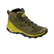 Buy Outline Mid GTX Burnt Oliv/Citron