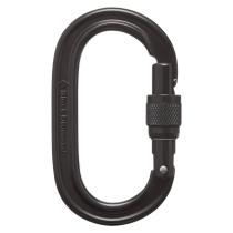 Achat Oval Keylock Screwgate Biner Black