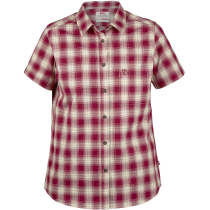 Acquisto Ovik Check Shirt Ss W Plum