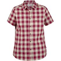 Achat Ovik Check Shirt Ss W Plum