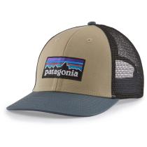 Buy P-6 Logo LoPro Trucker Hat El Cap Khaki w/Plume Grey