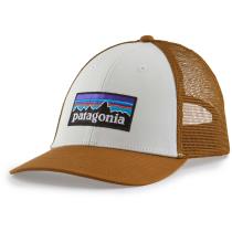 Buy P-6 Logo LoPro Trucker Hat White w/Bear Brown