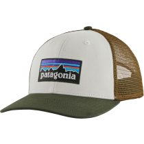 Acquisto P-6 Logo Trucker Hat White w/Kelp Forest