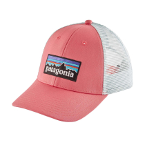 P-6 Logo LoPro Trucker Hat Sticker Pink