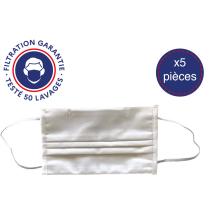 """Buy Pack 5 Masques En Tissu """"Communauté"""" Lavables"""