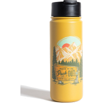 Buy Pack It Out 22Oz Insulated Steel Bottle Yellow