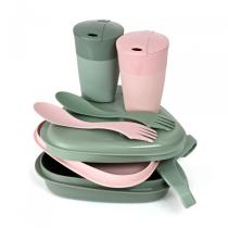 Buy Pack´N Eat Kit Bio Sandygreen/Dustypink