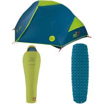 Acquisto Set tenda + Sacco a pelo + Materassino IBEX Ferrino x Snowleader