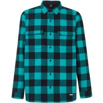 Buy Podium Long Sleeve Flannel Ocean Green