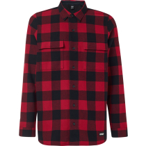 Kauf Podium Long Sleeve Flannel Sundried Tomato
