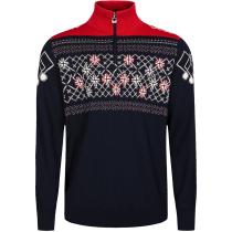 Acquisto Podium M Sweater Navy / Off White / Red