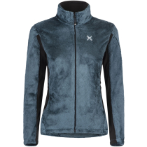 Buy Polar Style Jacket Woman Blu Cenere