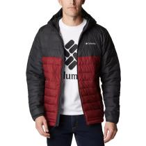 Acquisto Powder Lite Hooded Jacket M Red Jasper/Shark