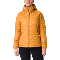 Achat Powder Lite Hooded Jacket Raw Honey