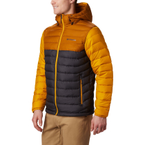 Achat Powder Lite Hooded Jacket Shark/Burnished Amber