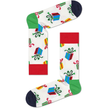Buy Presents Sock Crew White