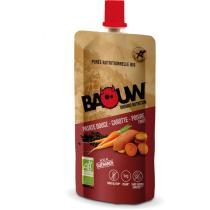 Buy Purée bio 63g Baouw Patate Douce-Carotte-Poivre Timut