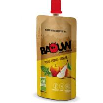 Buy Purée bio 63g Baouw Poire-Pomme-Menthe
