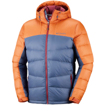 Buy Quantum Voyage II Hooded Jacket M Dark Mountain/Bright Copper