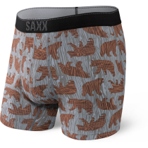 Achat Quest Boxer Brief Fly Grey Grizzly Grain
