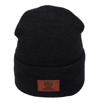 Achat Rancho Leather Beanie Dark Grey Heather