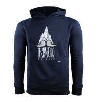 Rancho Moustache Hoody Navy