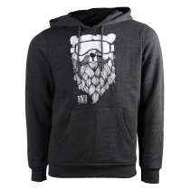 Kauf Rancho Ours Hoody Dark Grey Heather