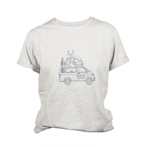 Buy Rebloch Van Tee Light Grey Heather Wn