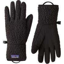 Acquisto Retro Pile Gloves Black