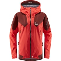 Kauf Roc Spire Jacket Women Hibiscus Red/Maroon Red