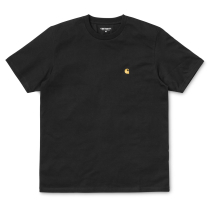 Buy S/S Chase T-Shirt Black / Gold